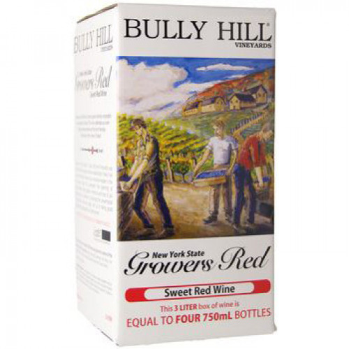Bully Hill Growers Red 3L Box NV
