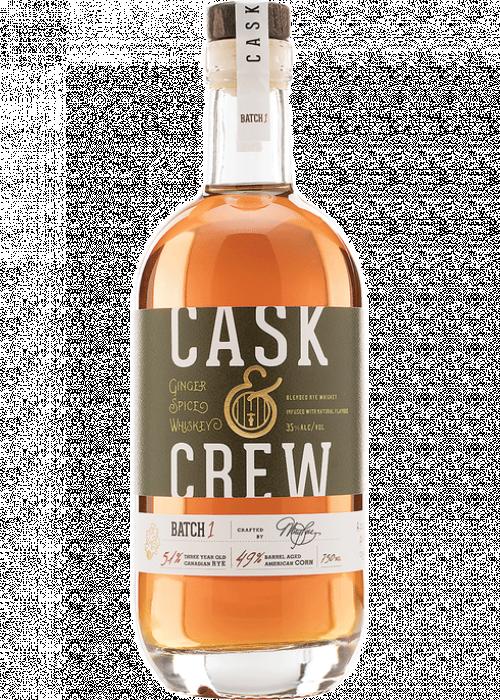 Cask & Crew Ginger Spiced 750ml