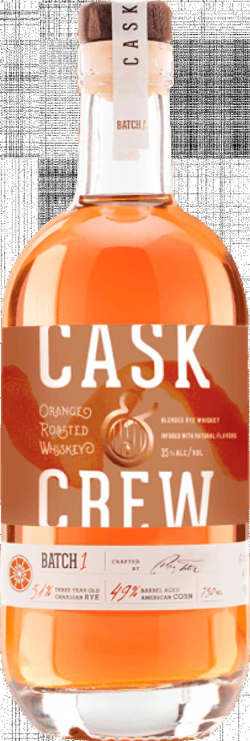 Cask & Crew Orange Whiskey 750ml