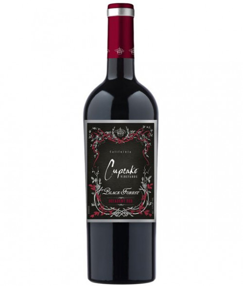Cupcake Black Forest Decadent Red 750ml NV