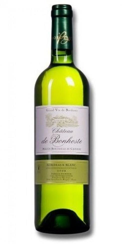 2019 Chateau De Bonhoste White Bordeaux 750ml