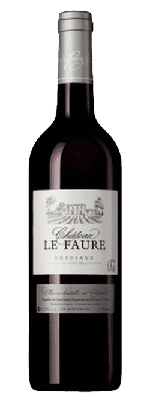 2018 Chateau Le Faure Red 750ml