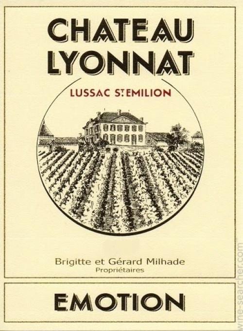 2015 Chateau Lyonnat Emotion Red 750ml