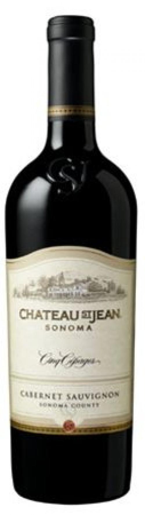 Chateau St Jean Cabernet  Sauvignon 750ml NV