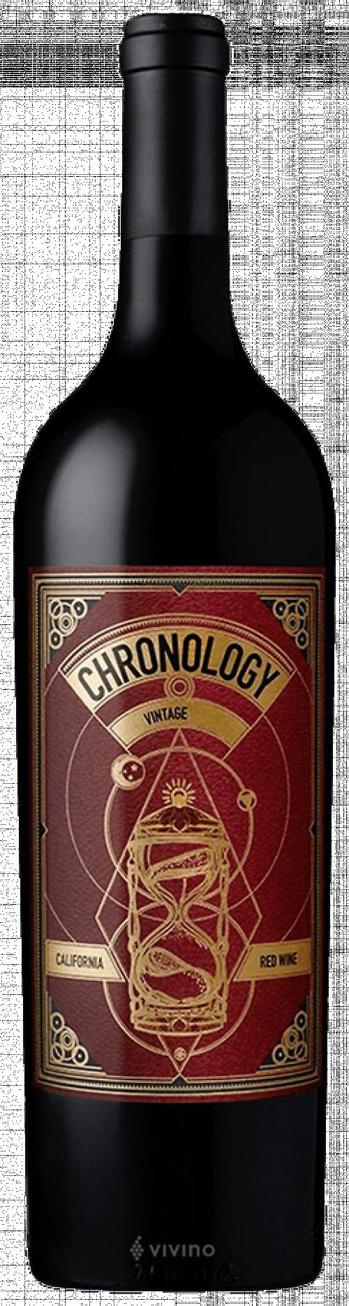 2018 Secret Indulgence Chronology Red Wine 750ml