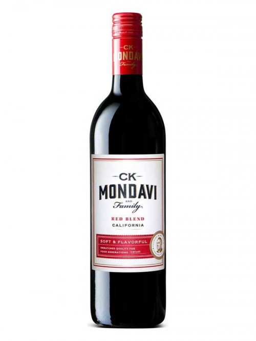 C.K. Mondavi Red Blend 750ml NV