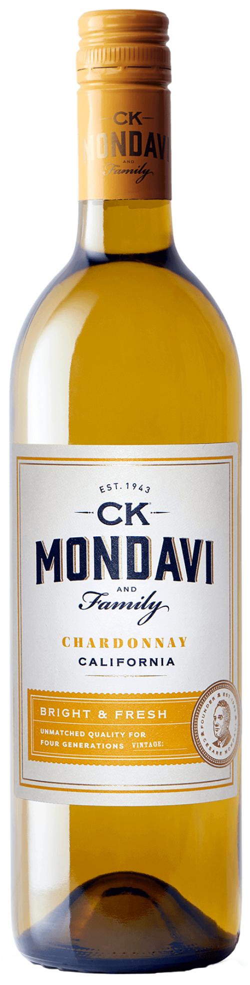 C.K. Mondavi Chardonnay 750ml NV