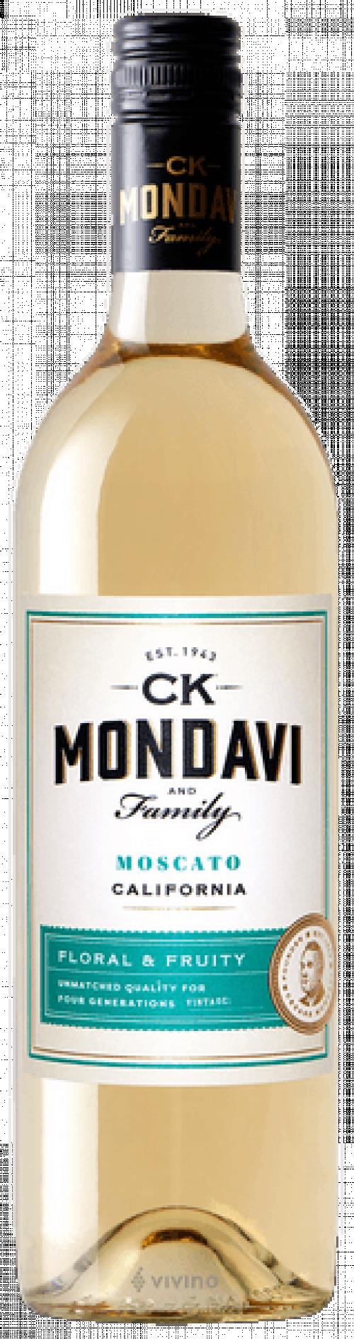 C.K. Mondavi Moscato 750ml NV