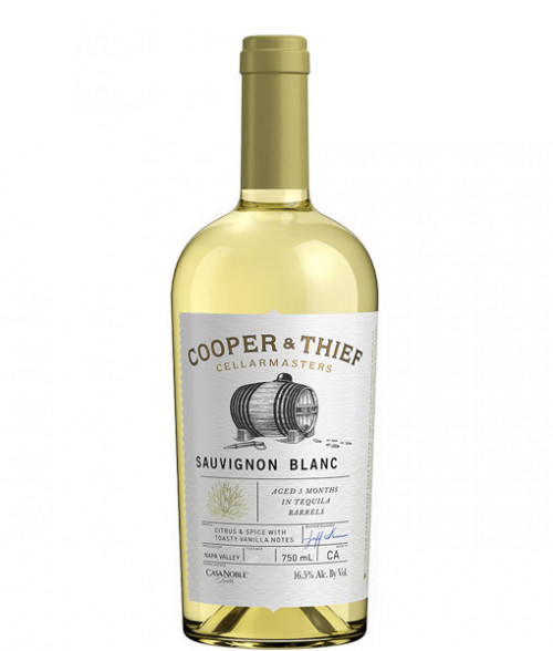 2016 Cooper & Thief Sauvignon Blanc Tequila Barrel Aged 750ml