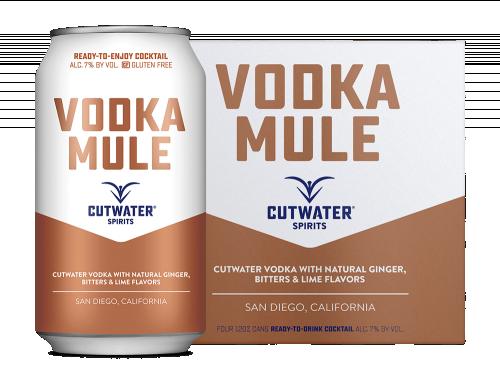 Cutwater Vodka Mule 4Pk 355ml Cans
