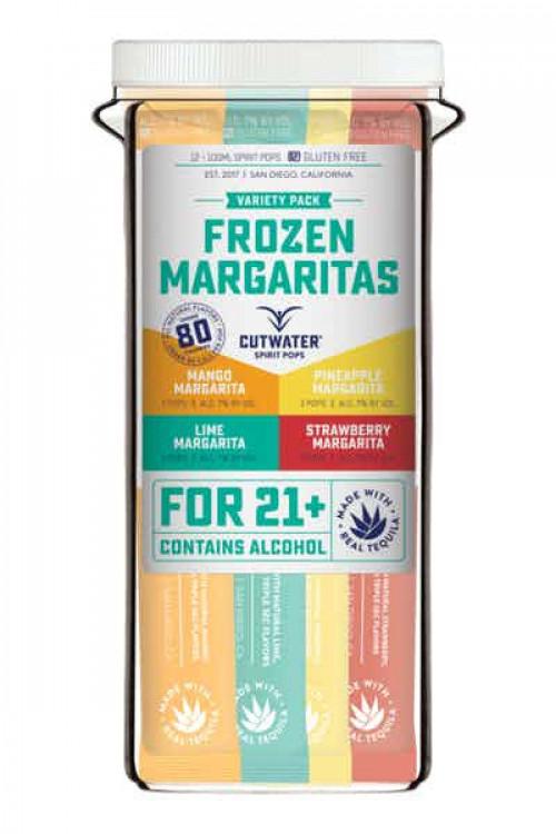 Cutwater Freeze Frozen Margarita Pops 12Pk-100ml