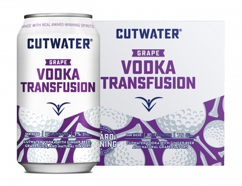 Cutwater Vodka Transfusion 4Pk 355ml Cans