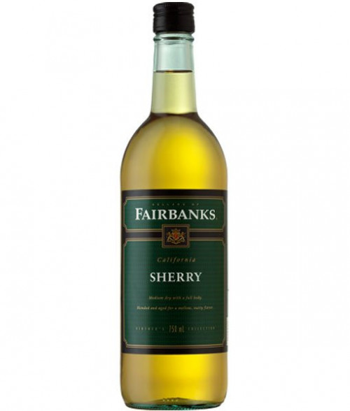 Fairbanks Sherry 750ml NV