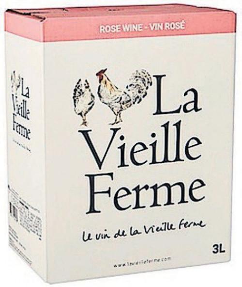 La Vieille Ferme Rose 3L Box NV