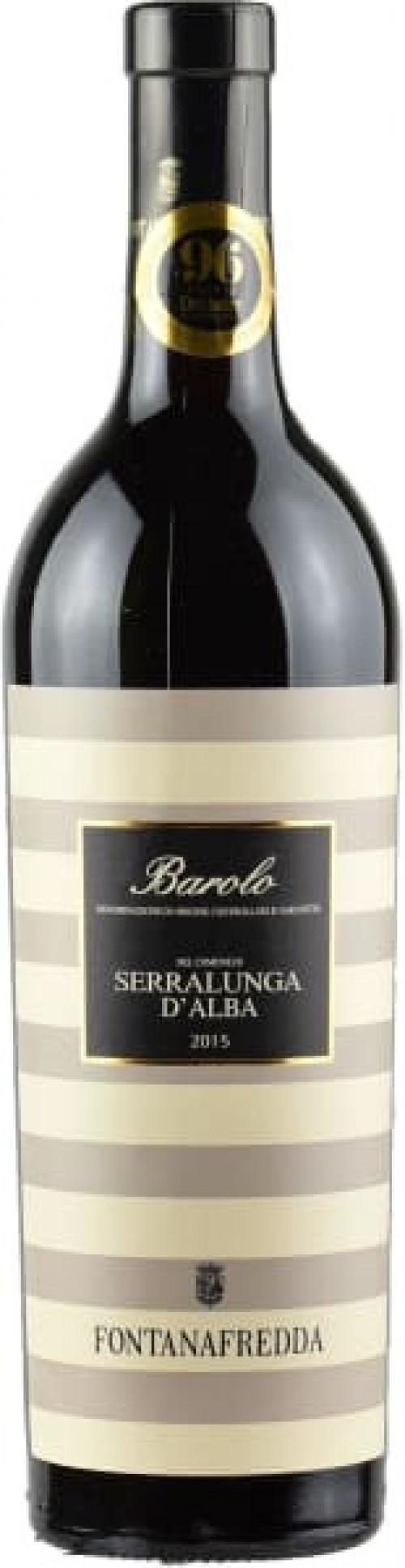 2015 Fontanafredda Barolo Serralunga 750ml