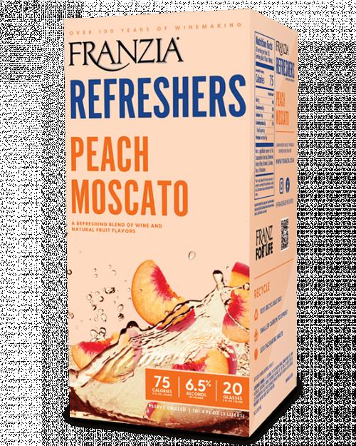 Franzia Refreshers Peach Moscato 3L Box NV