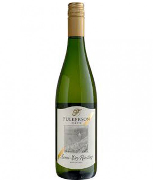 2019 Fulkerson Semi-Dry Riesling 750ml