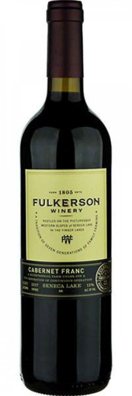 2018 Fulkerson Cabernet Franc 750ml