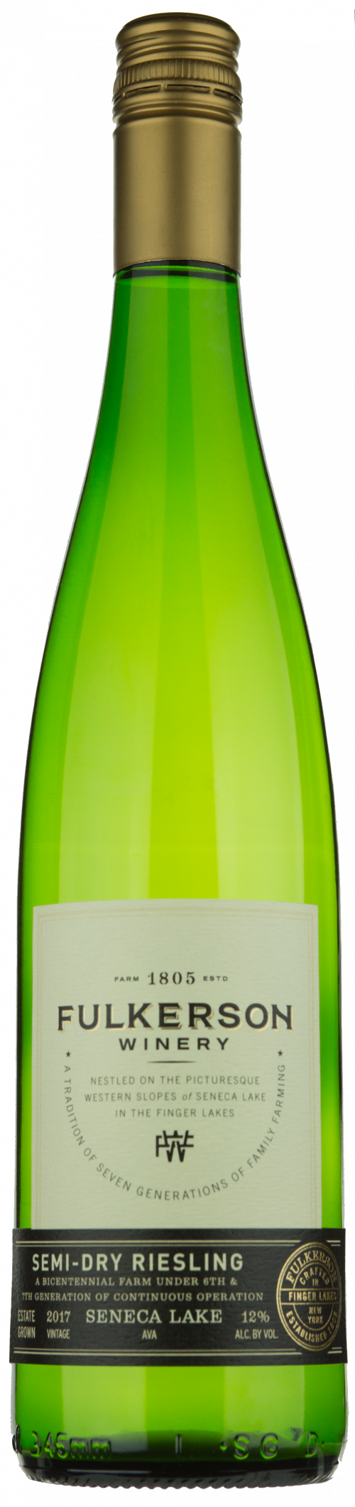 2020 Fulkerson Dry Riesling 750ml