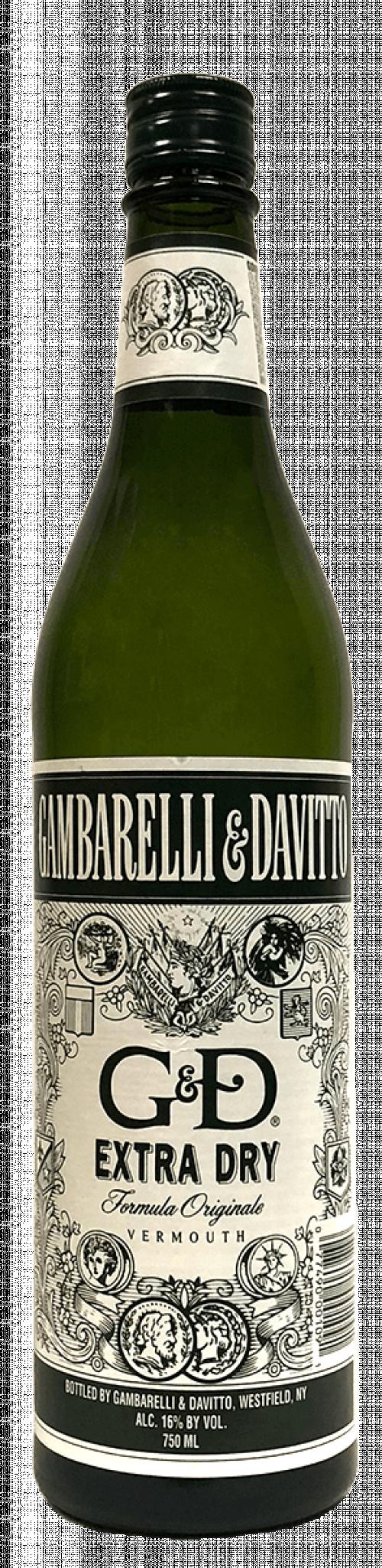 G & D Dry Vermouth 750ml