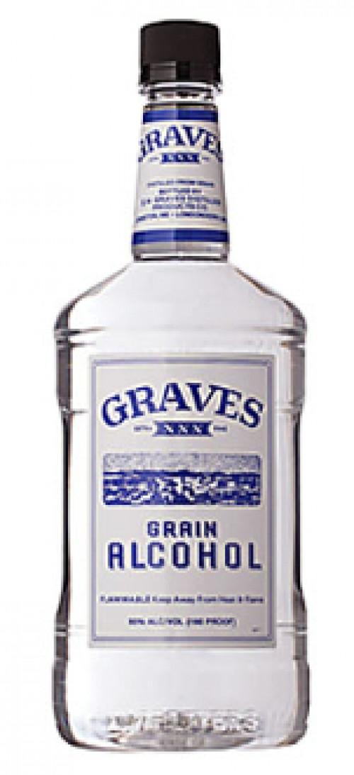 Graves Grain Alcohol 190 Proof 1.75L