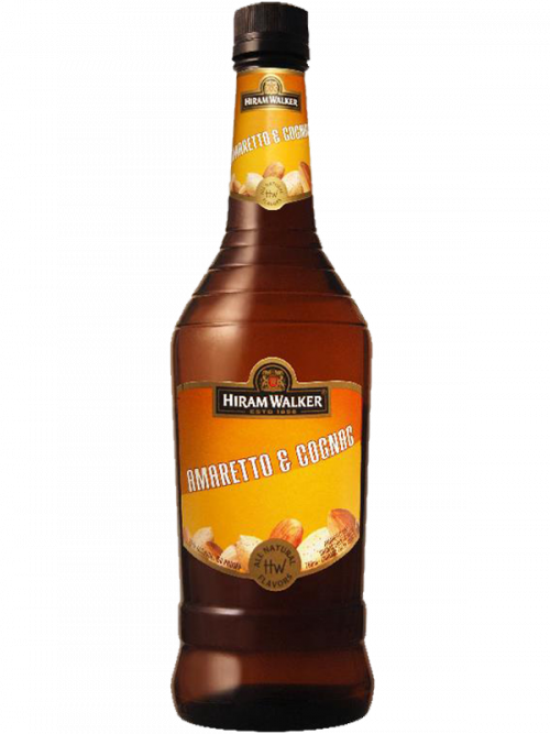 Hiram Walker Amaretto & Cognac 750ml