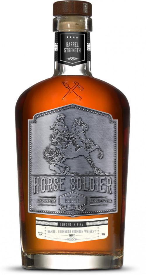 Horse Soldier Barrel Strength Bourbon Reserve 750ml