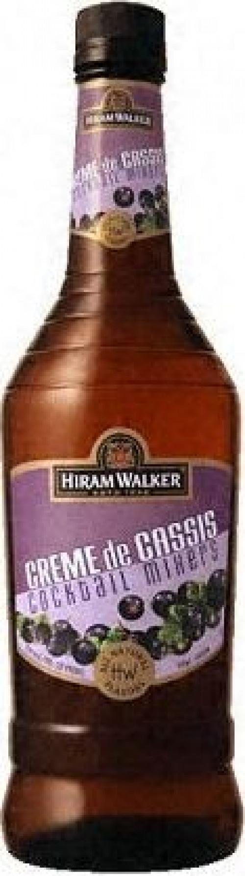 Hiram Walker Creme De Cassis 1L