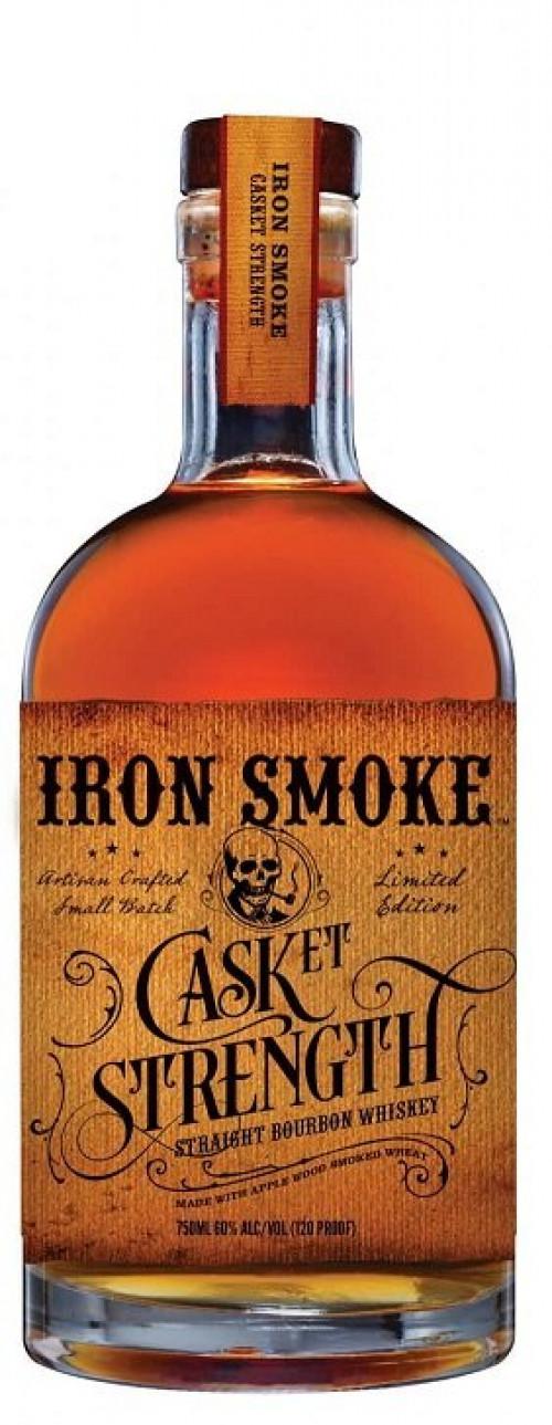 Iron Smoke Cask Strength Straight Borubon Whiskey 750ml