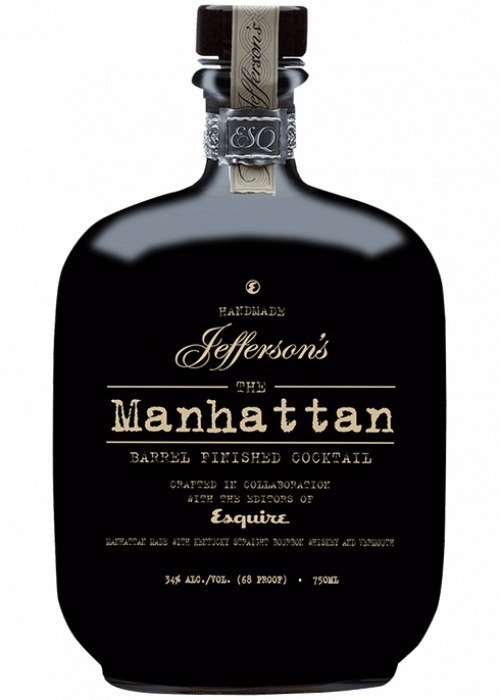 Jeffersons The Manhattan Barrel Finished Cocktail 750ml