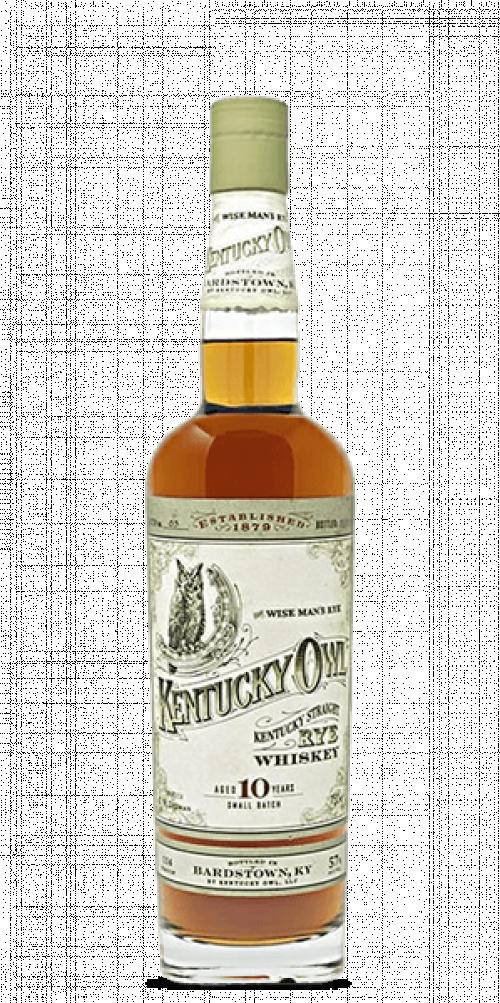 Kentucky Owl 10Yr Rye Single Barrel Small Batch 750ml