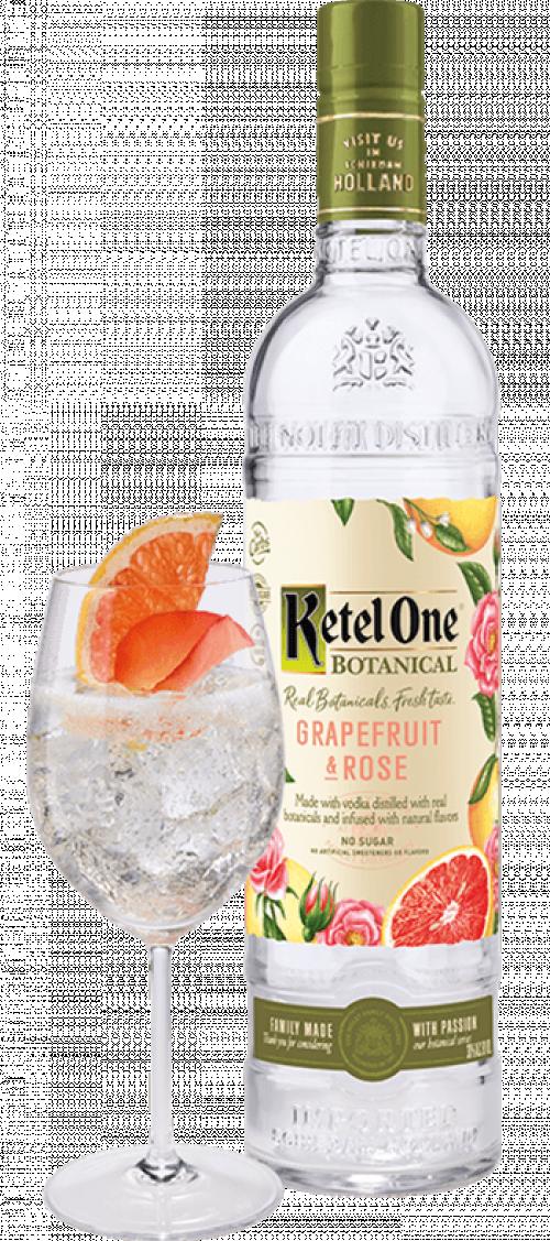 Ketel One Grapefruit & Rose 1L