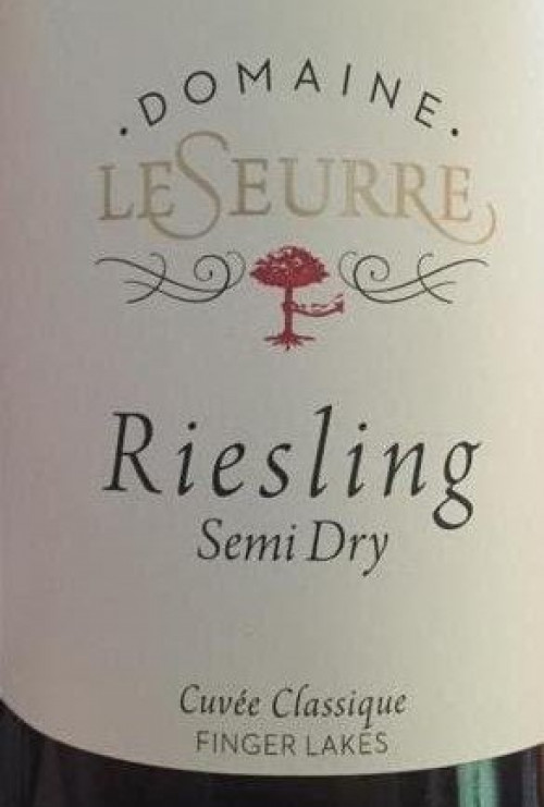 2017 Domaine Le Seurre Semi-Dry Riesling 750ml