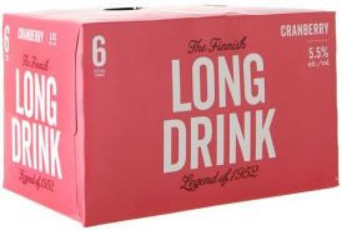 Long Drink Cranberry 6Pk - 12oz. Cans