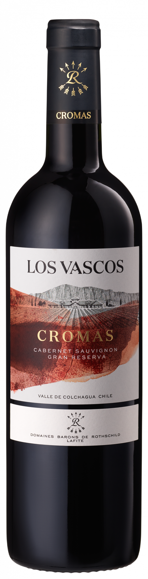2018 Los Vascos Cromas Grande Reserve Cabernet Sauvignon 750ml