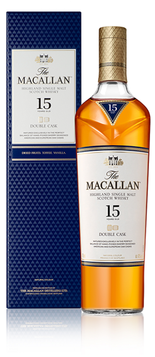 MaCallan 15Yr Double Cask Single Malt Scotch 750ml
