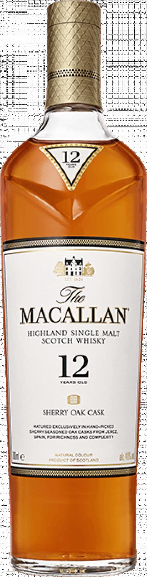Macallan 12Yr Single Malt Scotch Whisky 750ml