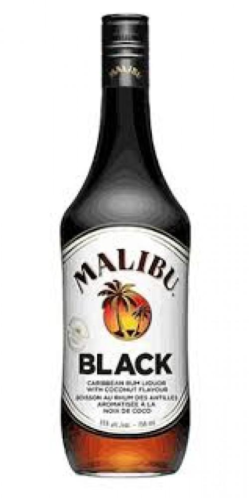 Malibu Black Rum 1L