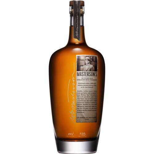 Mastersons 10Yr Straight Rye Whiskey 750ml