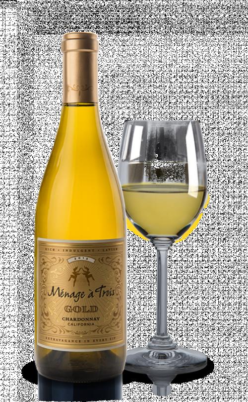 Menage A Trois Gold Chardonnay 750ml NV