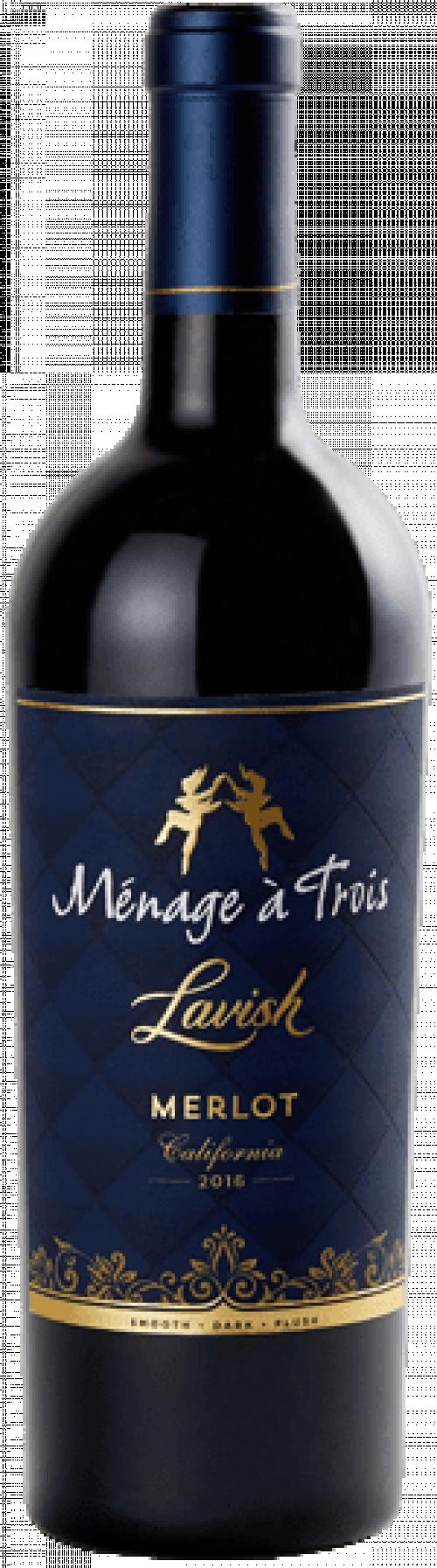 Menage A Trois Lavish Merlot 750ml NV