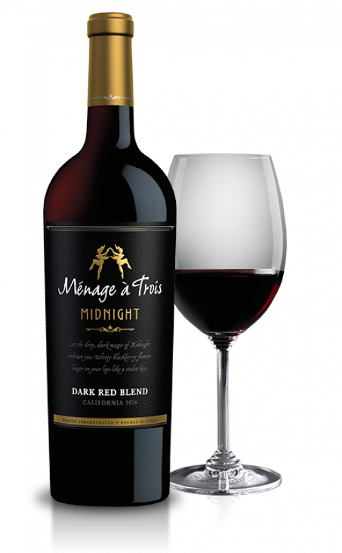 Menage A Trois Midnight Red 750ml NV
