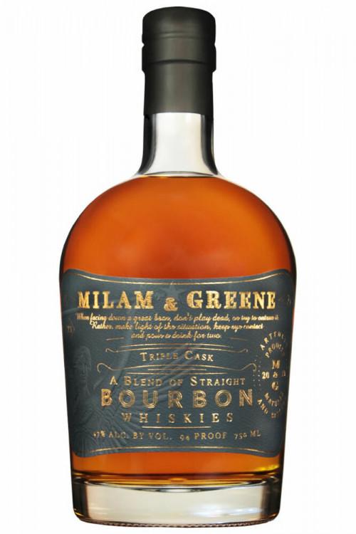 Milam & Greene Triple Cask Bourbon 750ml