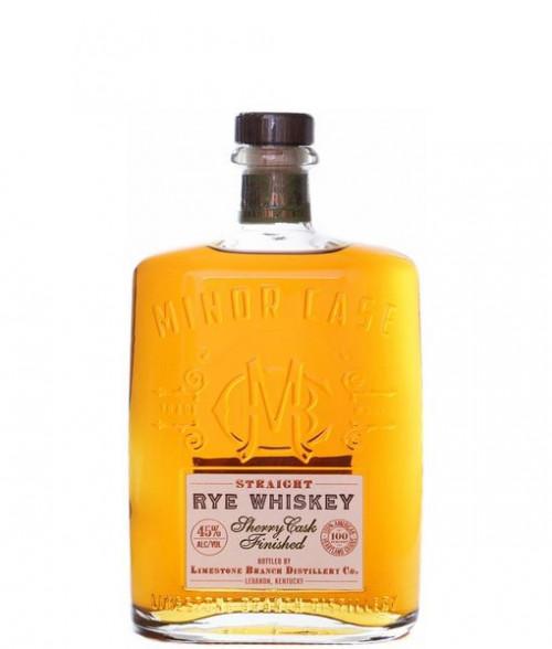 Minor Case Straight Rye Whiskey Sherry Cask 750ml