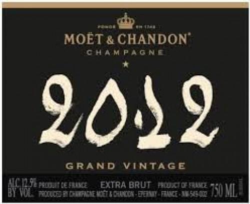 2012 Moet & Chandon Grand Vintage Brut 750ml