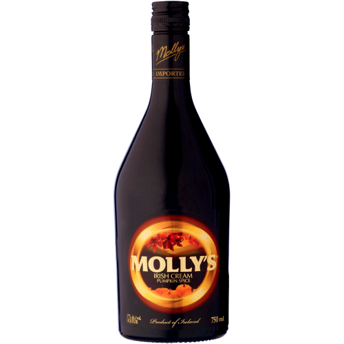Mollys Irish Pumpkin Spice Cream 750ml