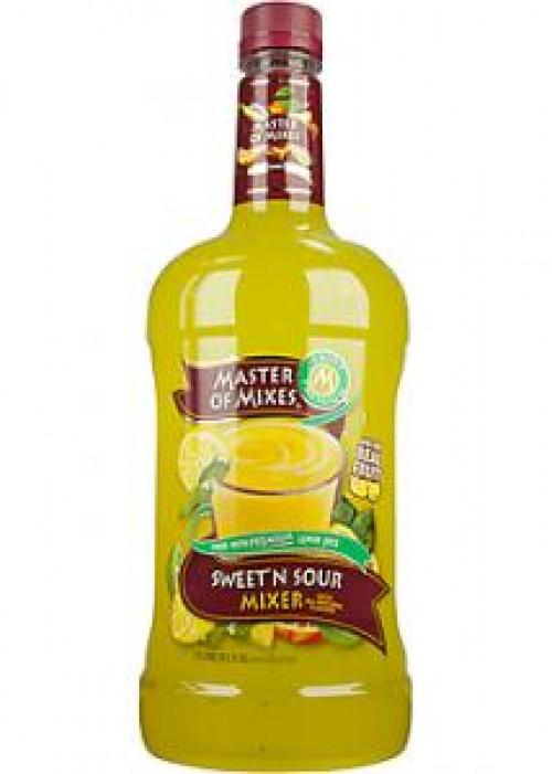 Master Of Mixes Sweet & Sour Mix 1.75L