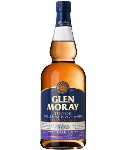 Glen Moray Elgin Classic Port Cask Finish Single Malt Scotch 750ml