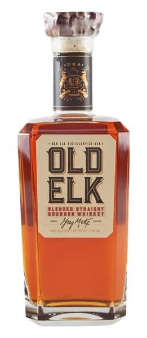 Old Elk Blended Straight Bourbon 750ml