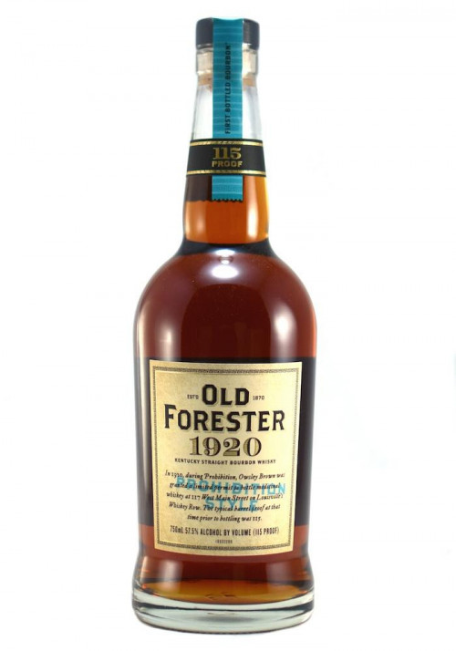 Old Forester 1920 Prohibition Style Kentucky Straight Bourbon Whiskey 750ml